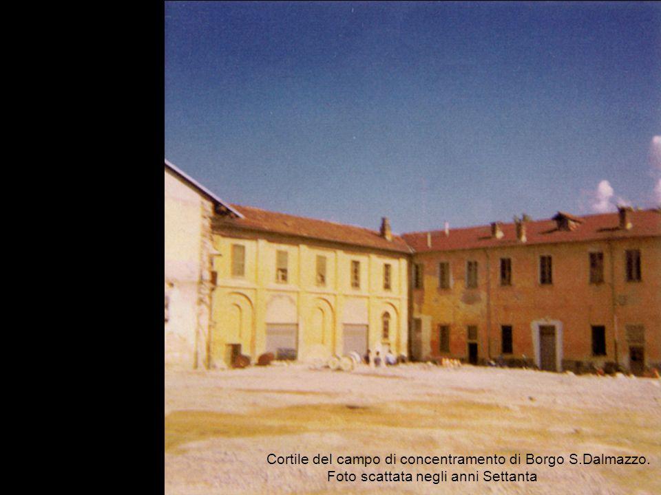 Cortile del campo di concentramento di Borgo S. Dalmazzo