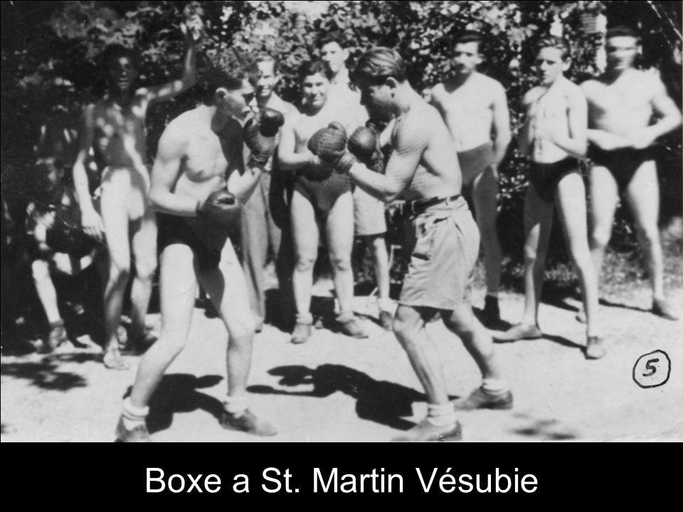 Boxe a St. Martin Vésubie