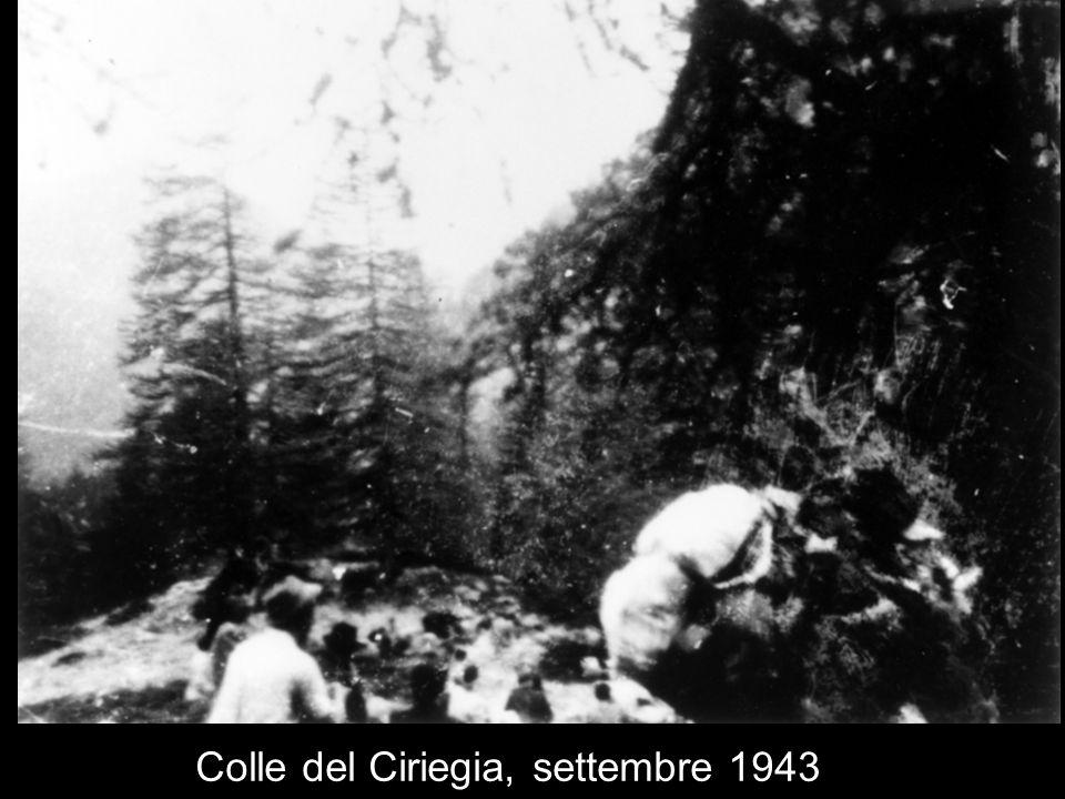 Colle del Ciriegia, settembre 1943