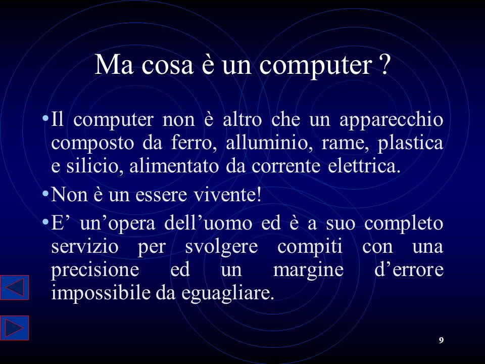 Ma cosa è un computer