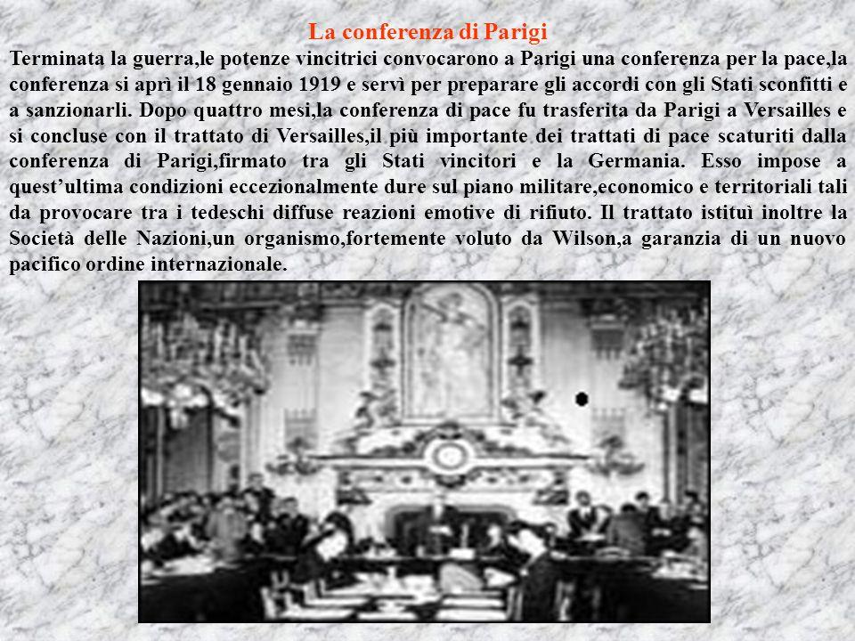 La conferenza di Parigi