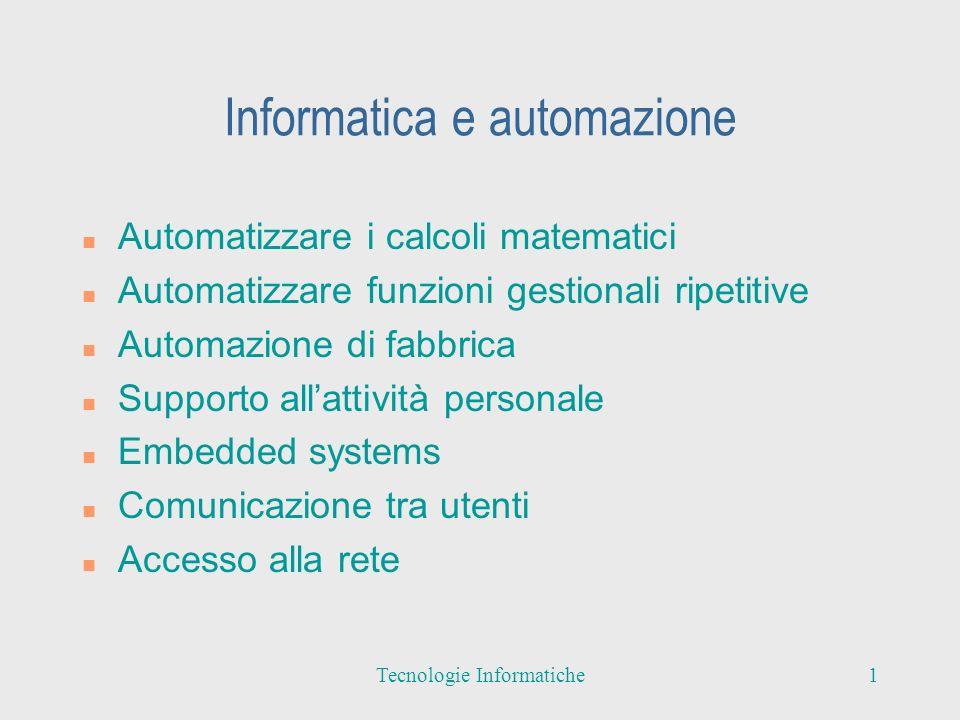 Informatica e automazione
