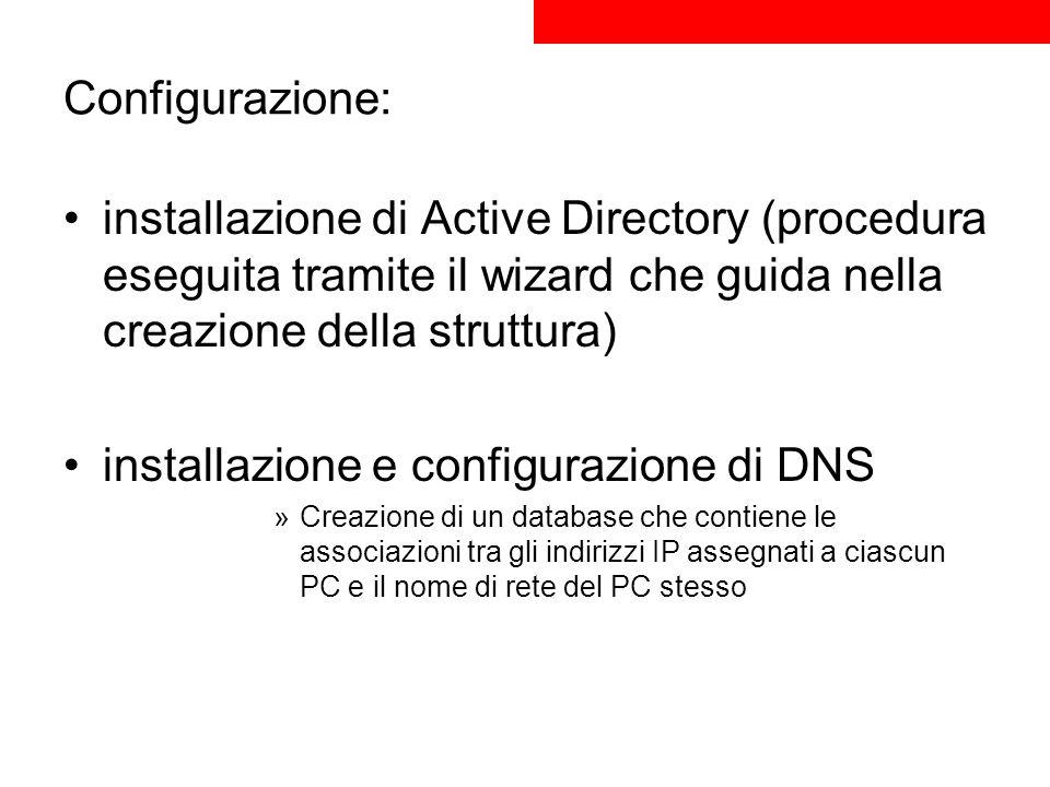 installazione e configurazione di DNS