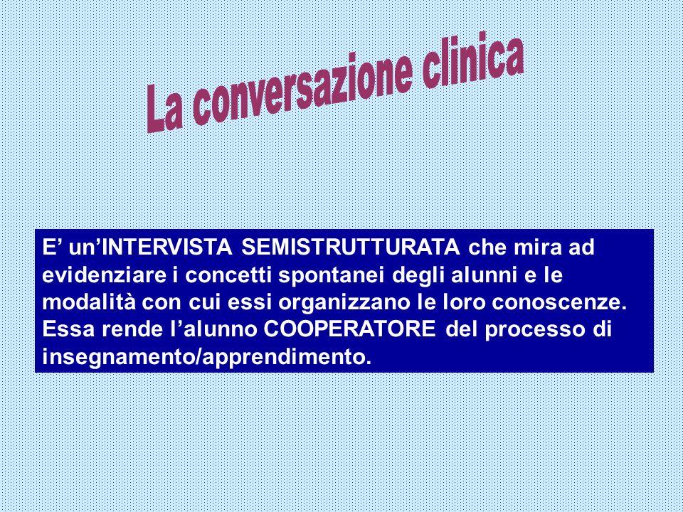 La conversazione clinica