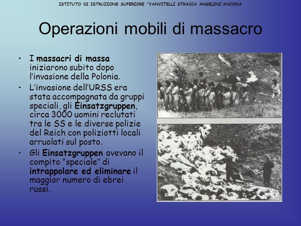 Operazioni mobili di massacro
