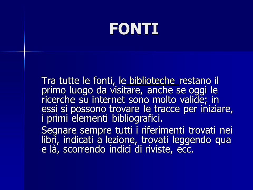 FONTI