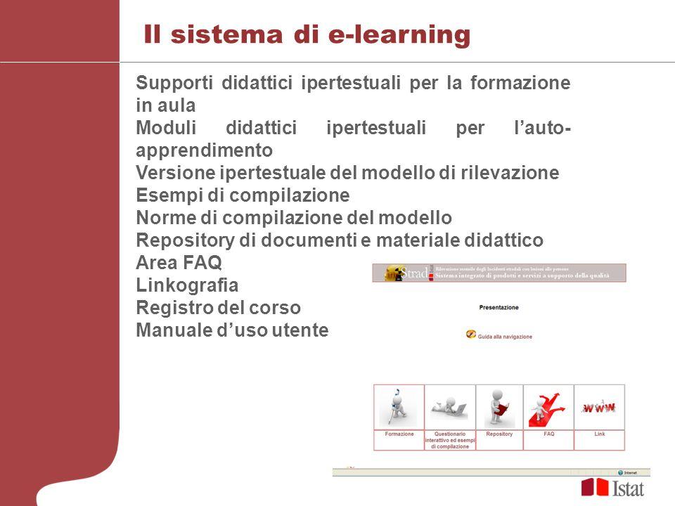 Il sistema di e-learning