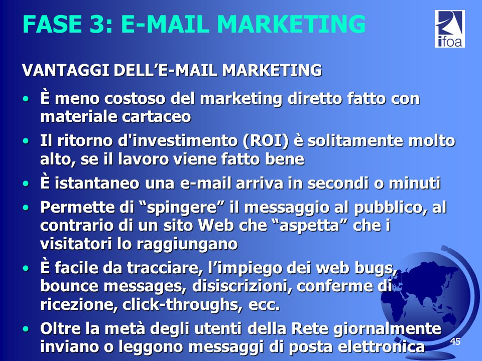 FASE 3: E-MAIL MARKETING
