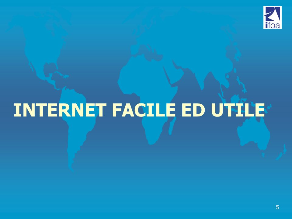 INTERNET FACILE ED UTILE