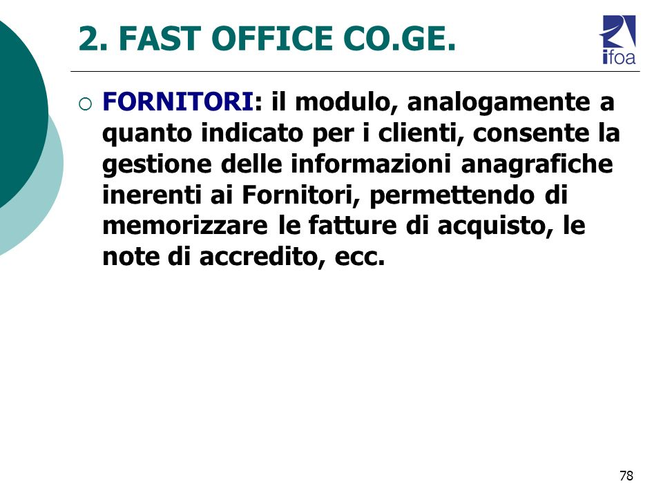 2. FAST OFFICE CO.GE.