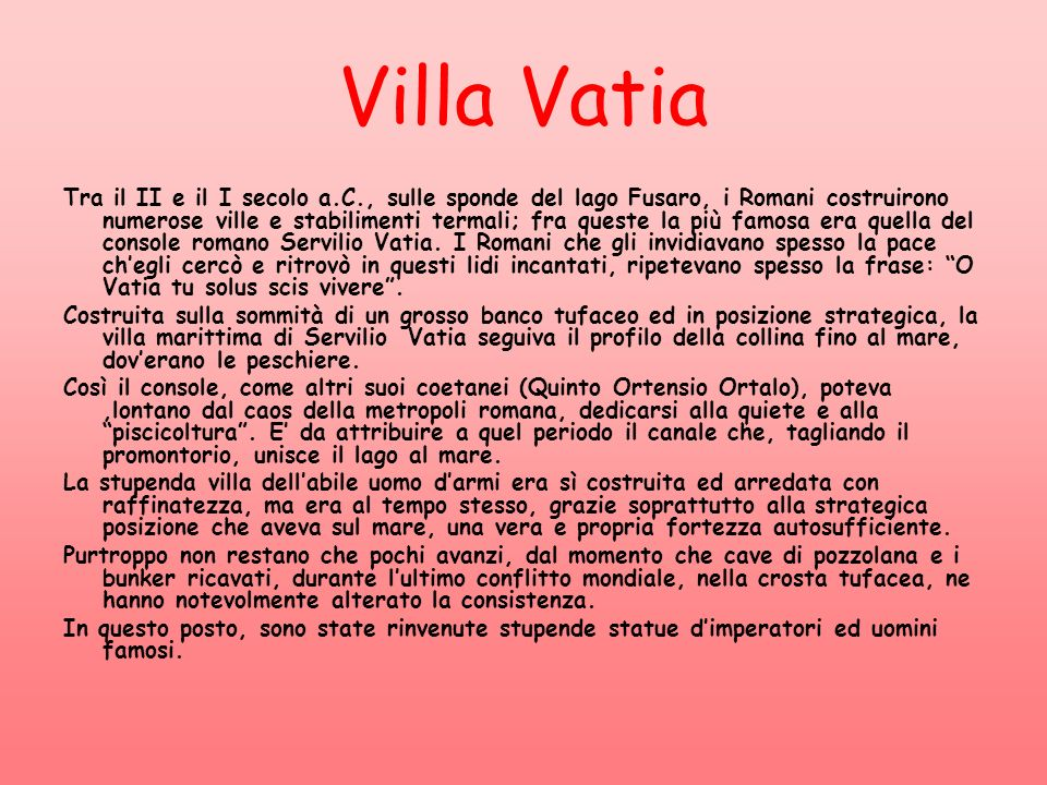 Villa Vatia