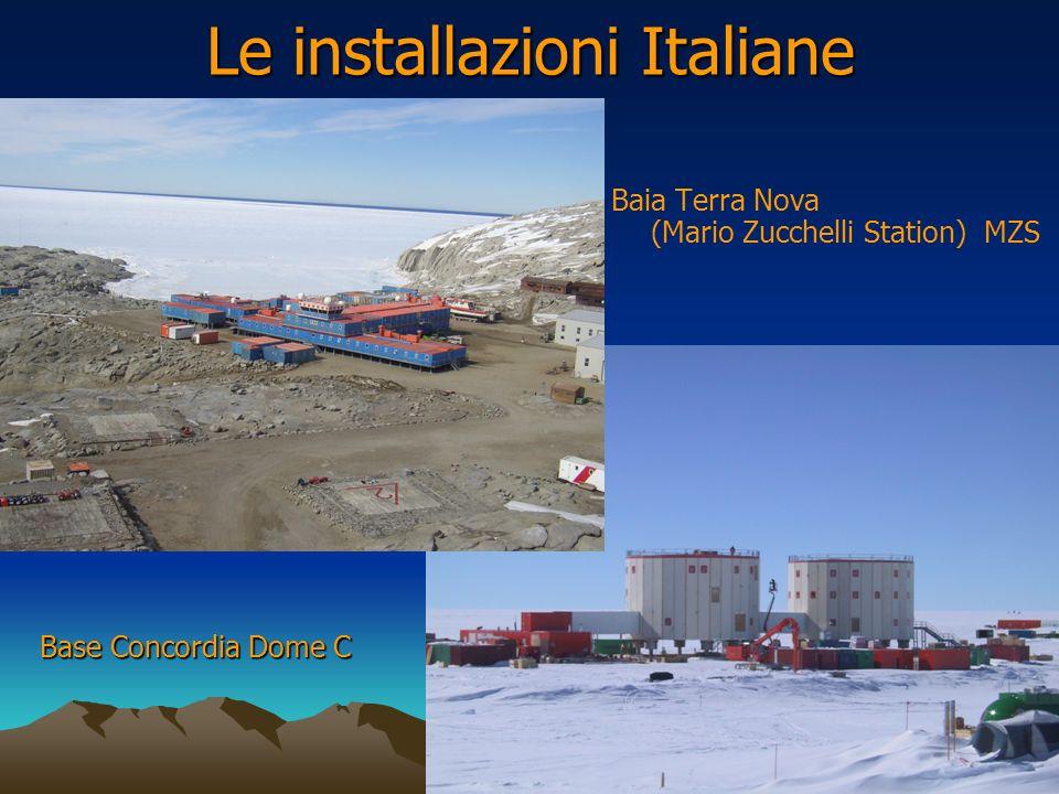 Le installazioni Italiane