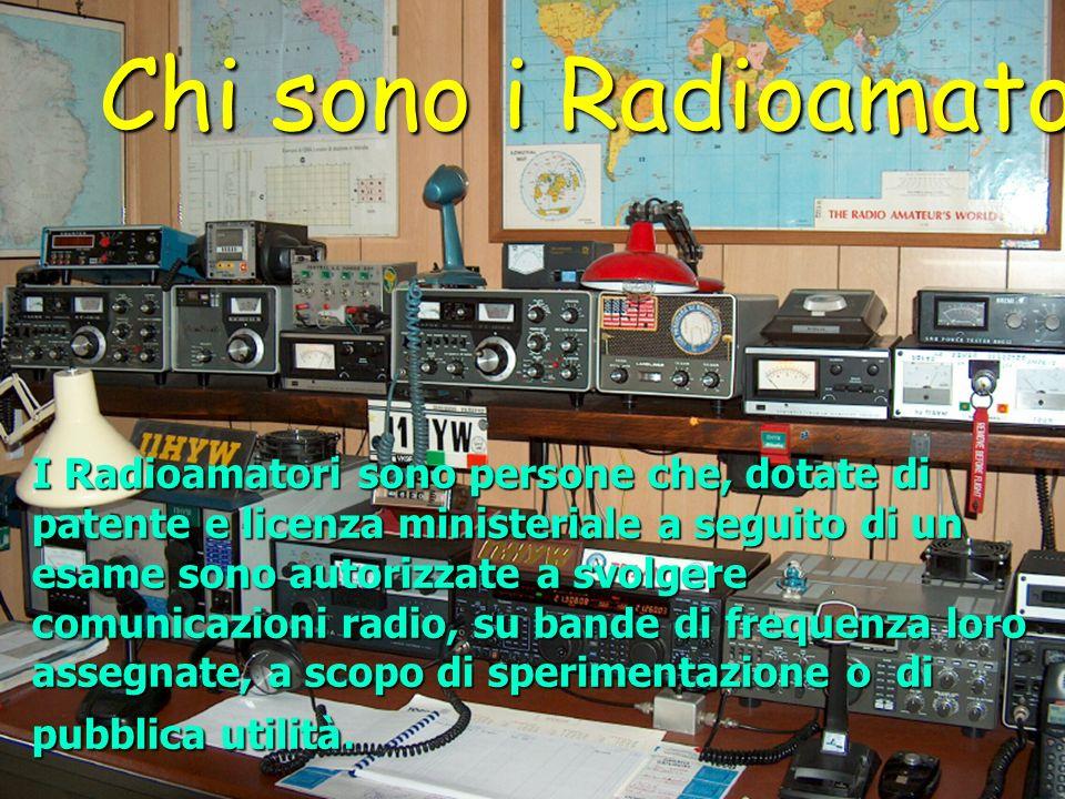 Chi sono i Radioamatori
