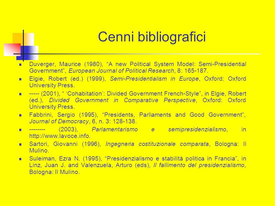 Cenni bibliografici