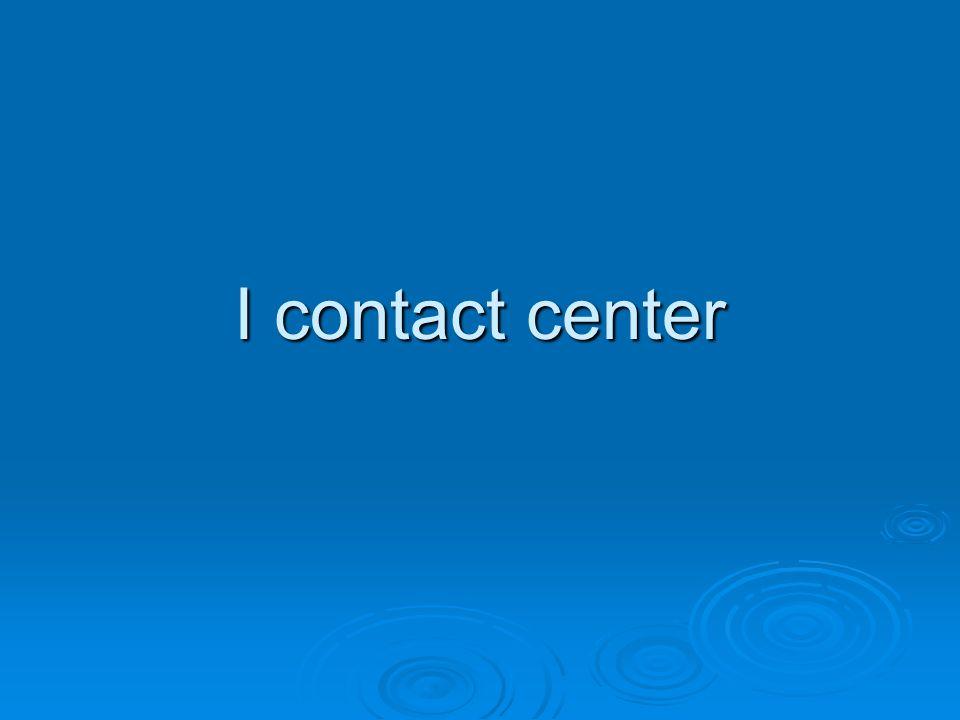 I contact center