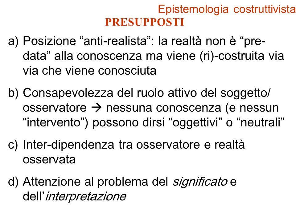 Epistemologia costruttivista
