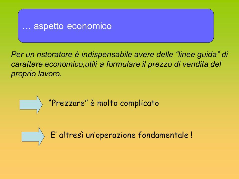 … aspetto economico