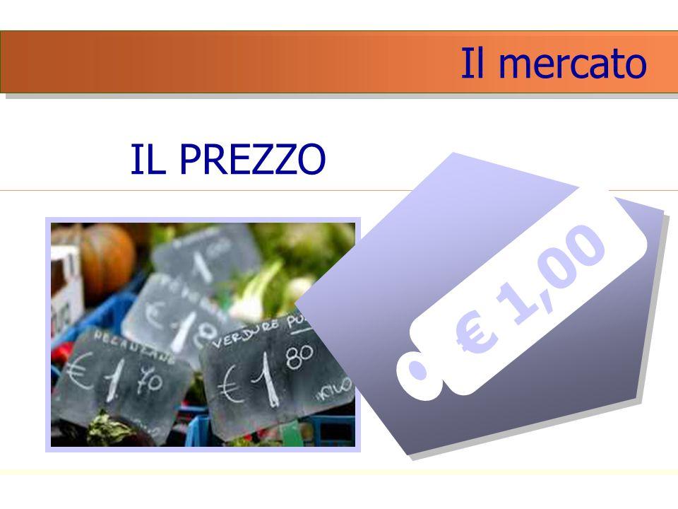 Il mercato IL PREZZO € 1,00