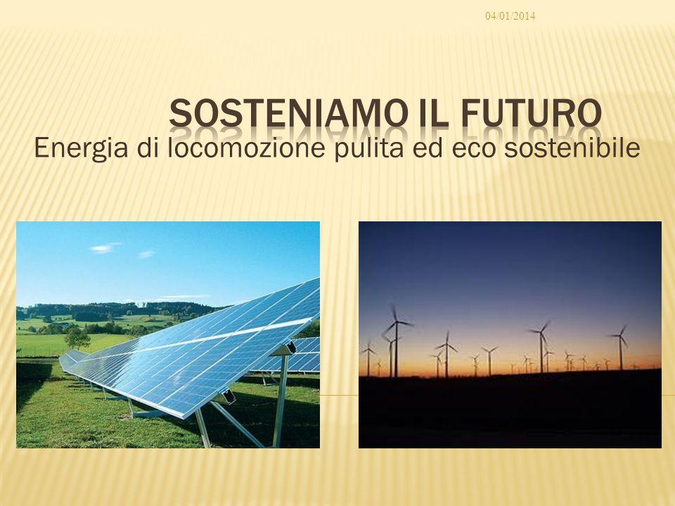 Energia di locomozione pulita ed eco sostenibile