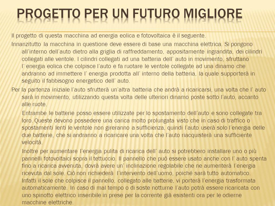 progetto per un futuro migliore
