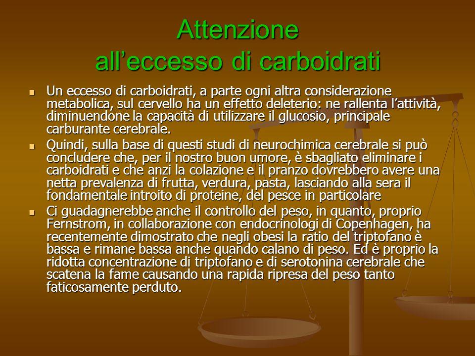 Attenzione all'eccesso di carboidrati