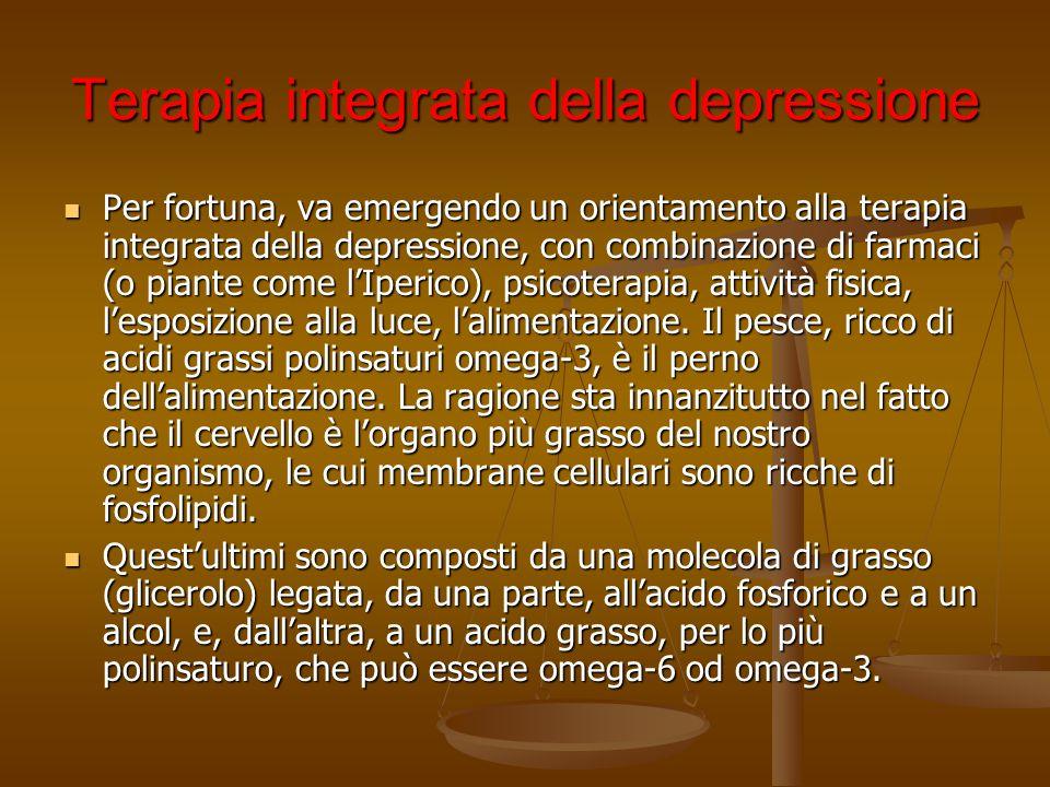 Terapia integrata della depressione