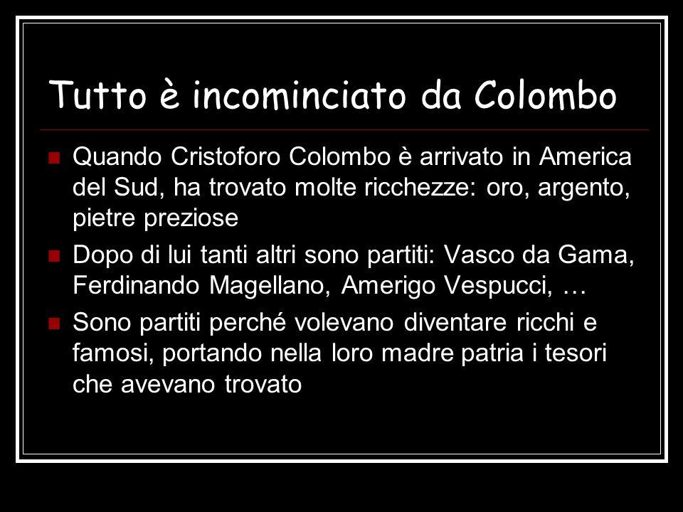 Tutto è incominciato da Colombo