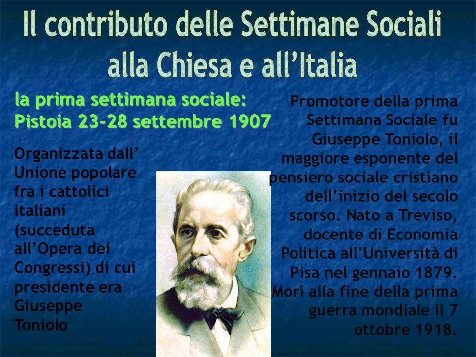 Il contributo delle Settimane Sociali alla Chiesa e all'Italia