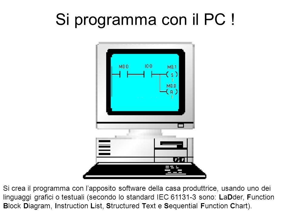 Si programma con il PC !