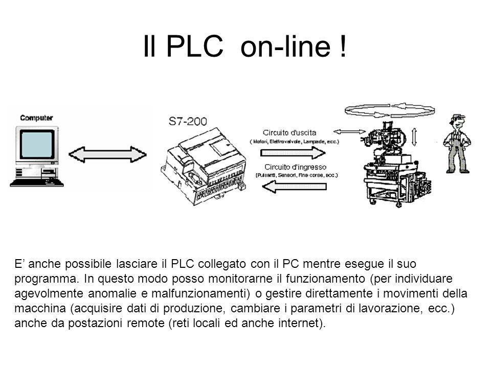 Il PLC on-line !