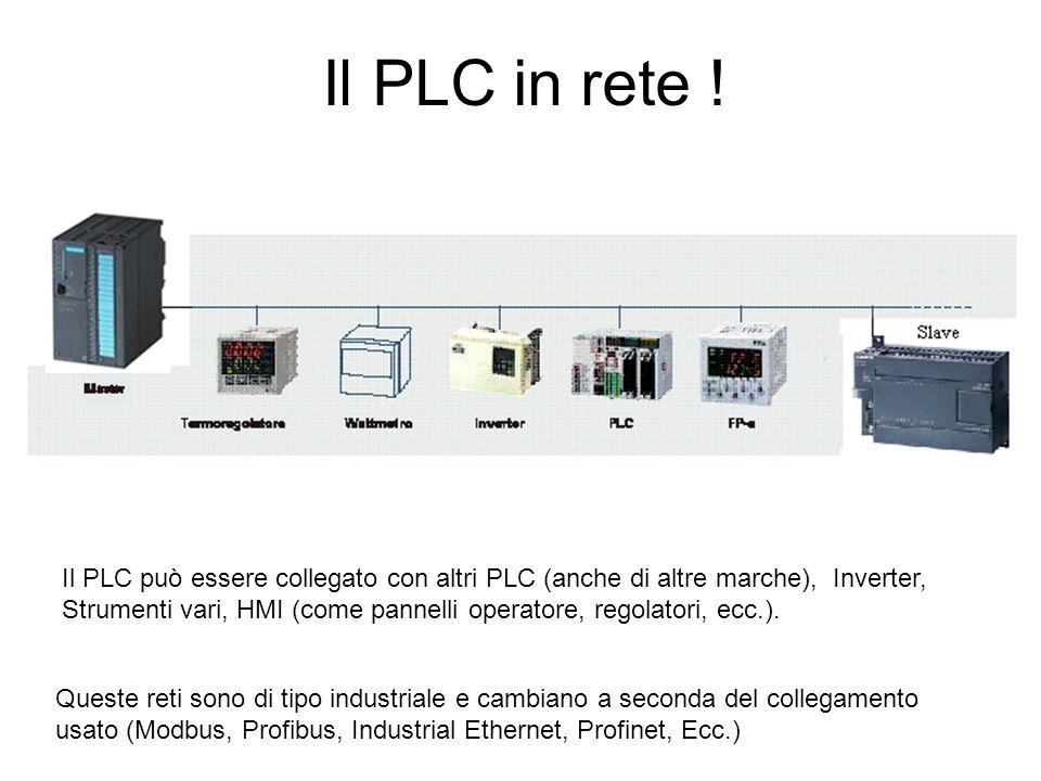 Il PLC in rete !