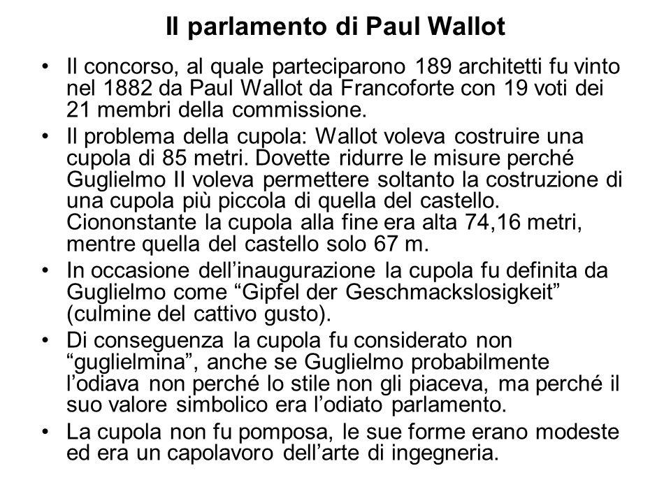 Il parlamento di Paul Wallot