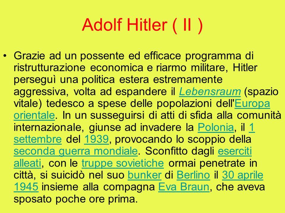 Adolf Hitler ( II )
