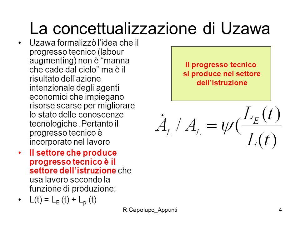 La concettualizzazione di Uzawa