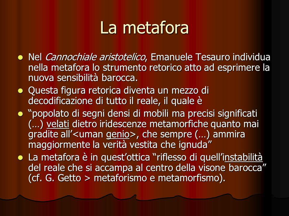 La metafora