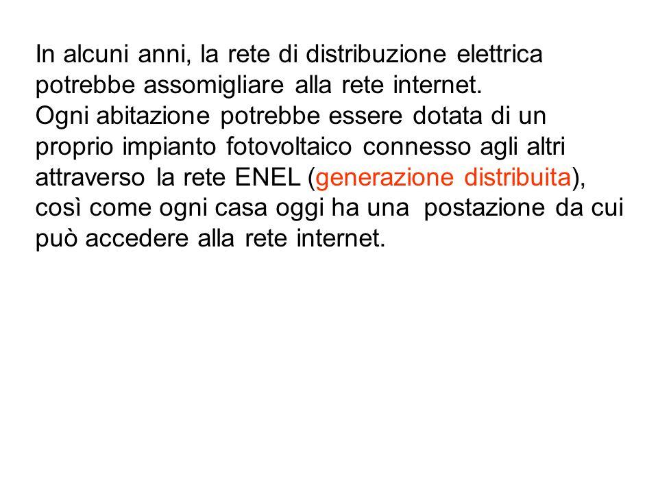 In alcuni anni, la rete di distribuzione elettrica potrebbe assomigliare alla rete internet.