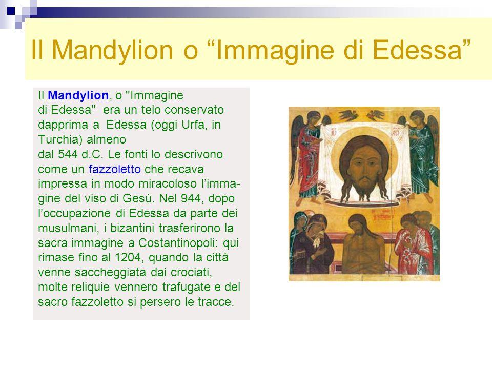 Il Mandylion o Immagine di Edessa