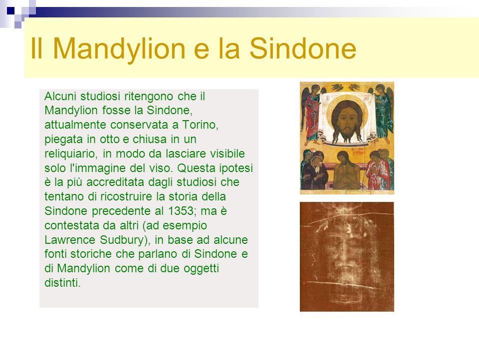 Il Mandylion e la Sindone