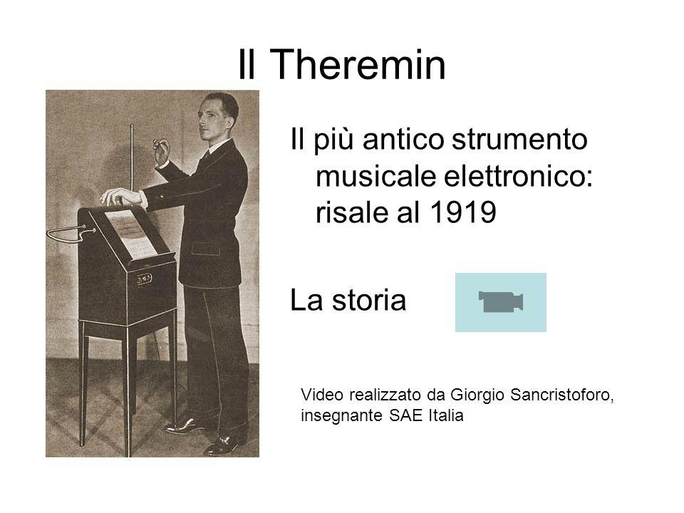 Il Theremin Il più antico strumento musicale elettronico: risale al 1919. La storia.