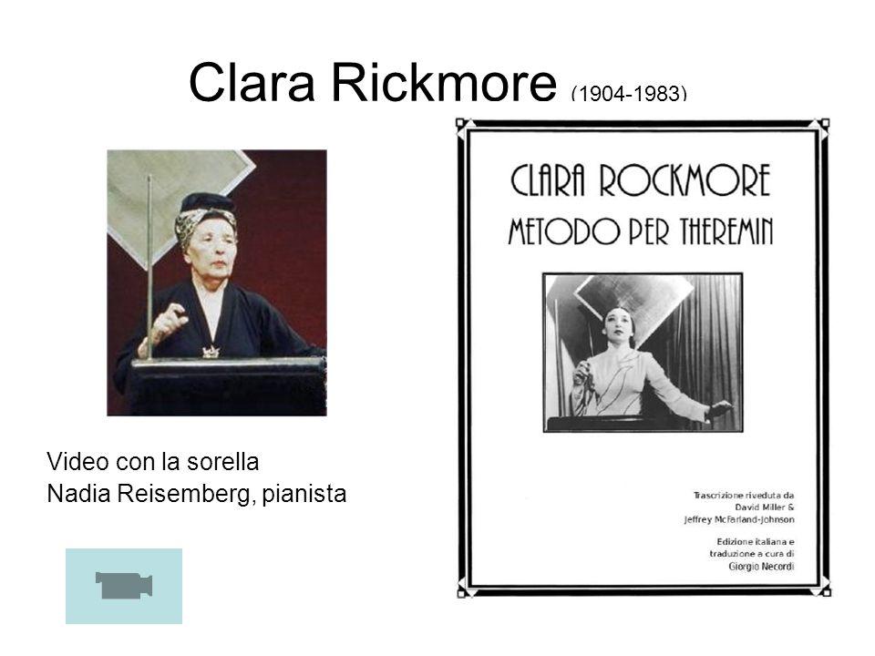 Clara Rickmore (1904-1983) Video con la sorella