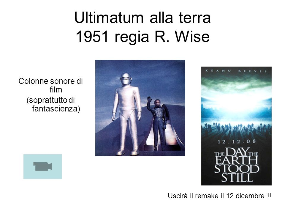 Ultimatum alla terra 1951 regia R. Wise