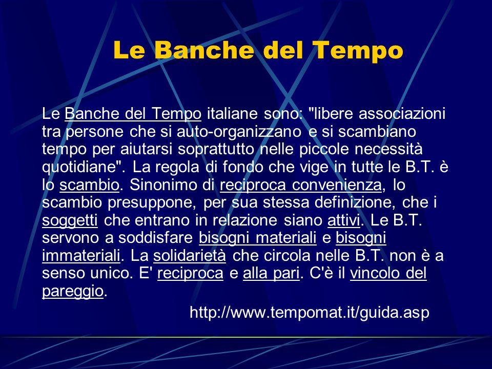 Le Banche del Tempo