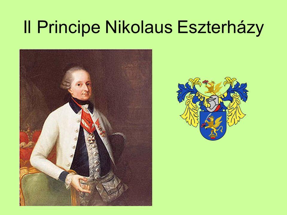 Il Principe Nikolaus Eszterházy