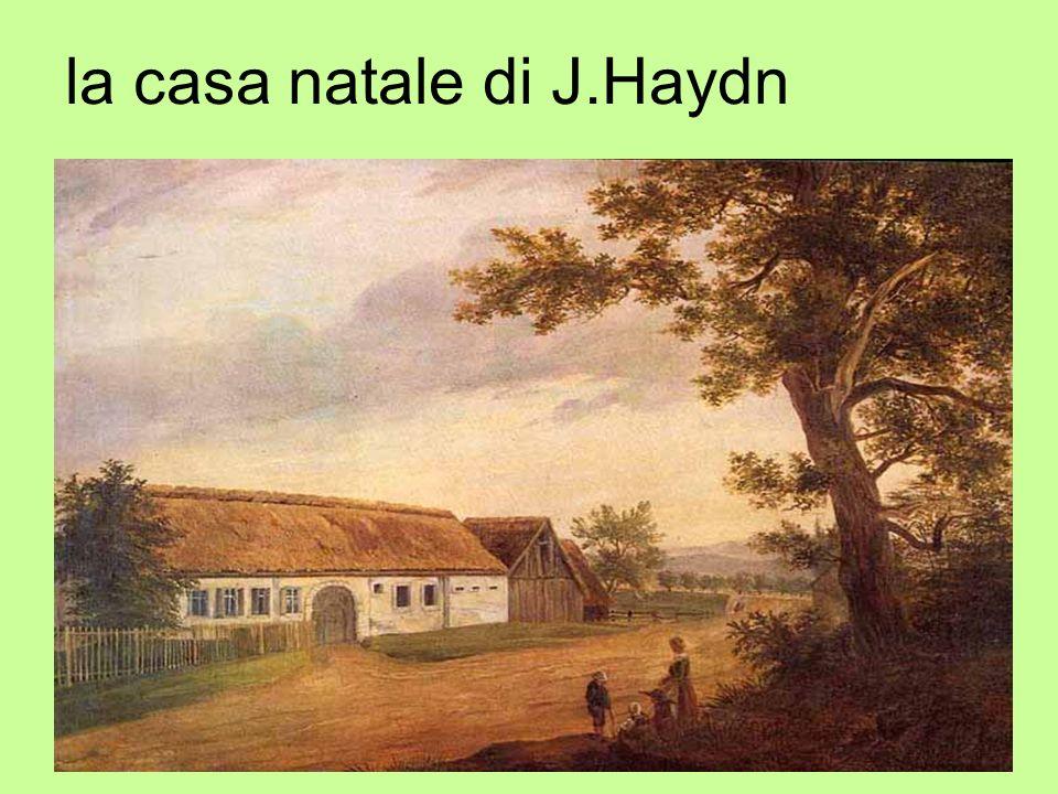 la casa natale di J.Haydn