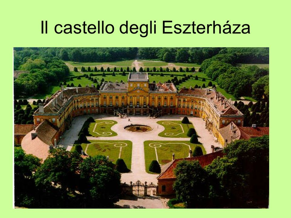 Il castello degli Eszterháza