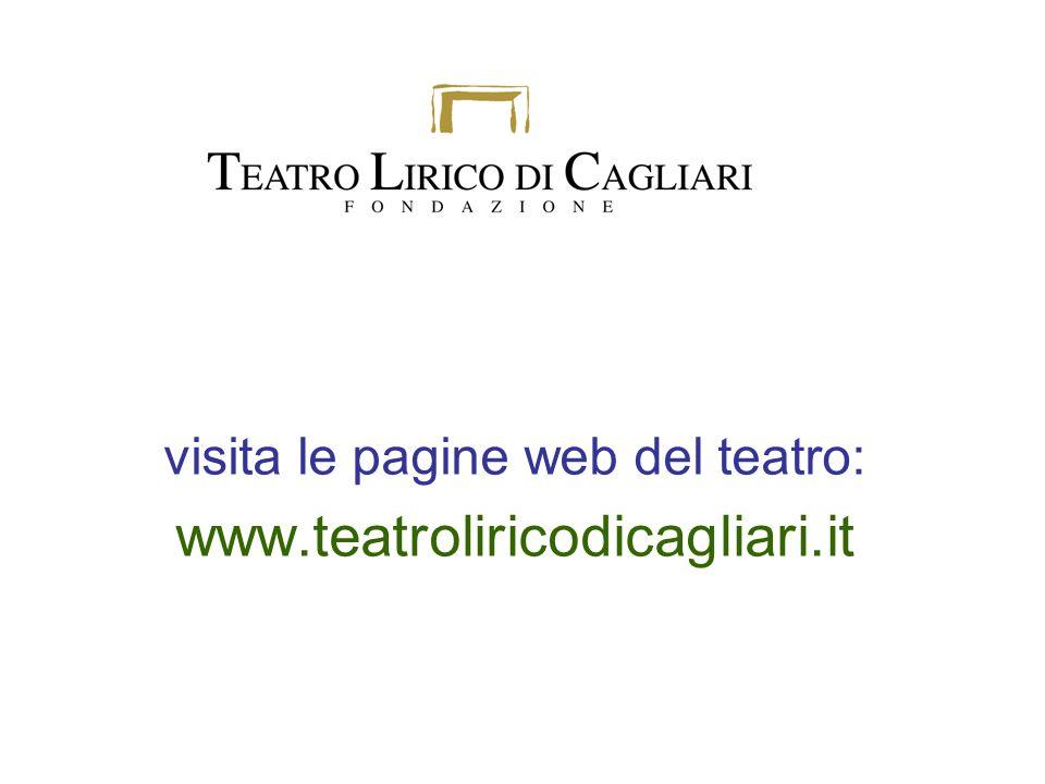 visita le pagine web del teatro: