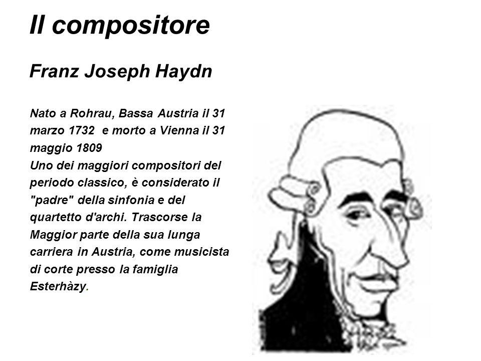 Il compositore Franz Joseph Haydn