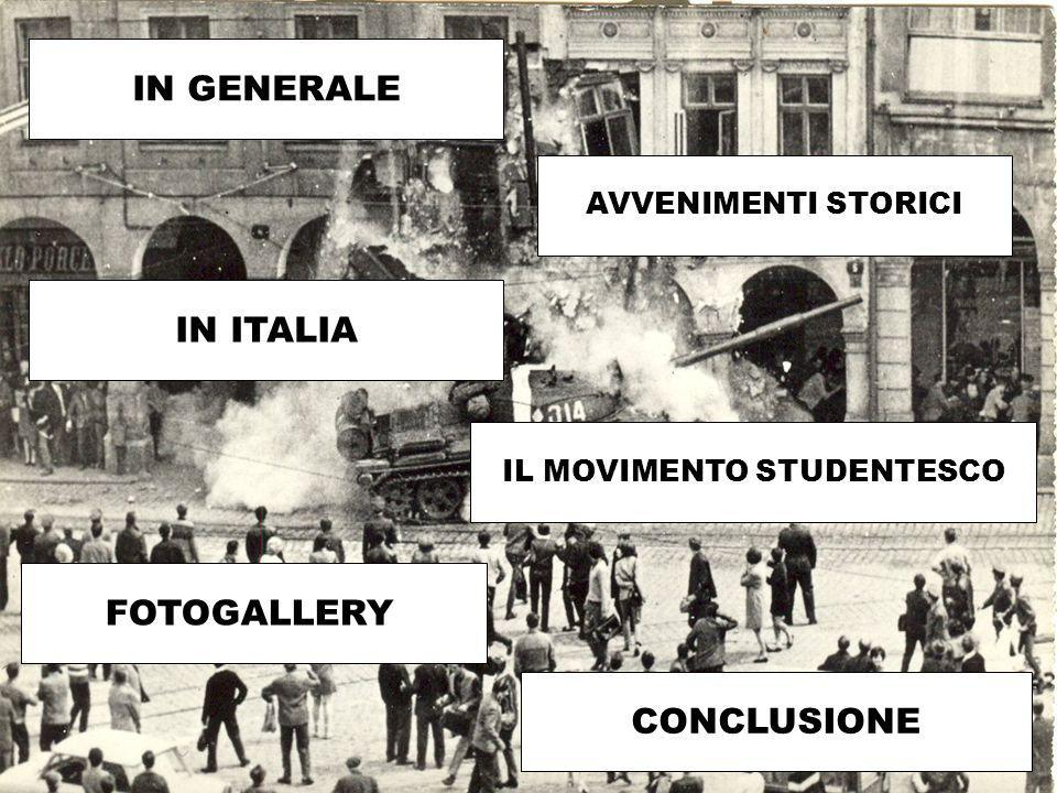 IL MOVIMENTO STUDENTESCO