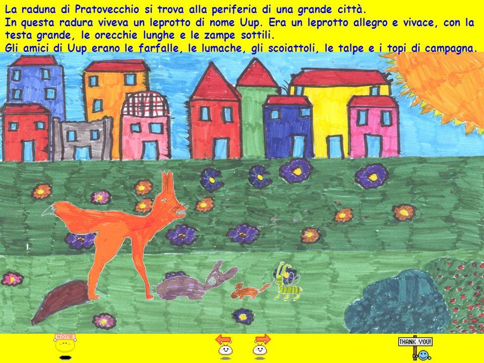 La raduna di Pratovecchio si trova alla periferia di una grande città.