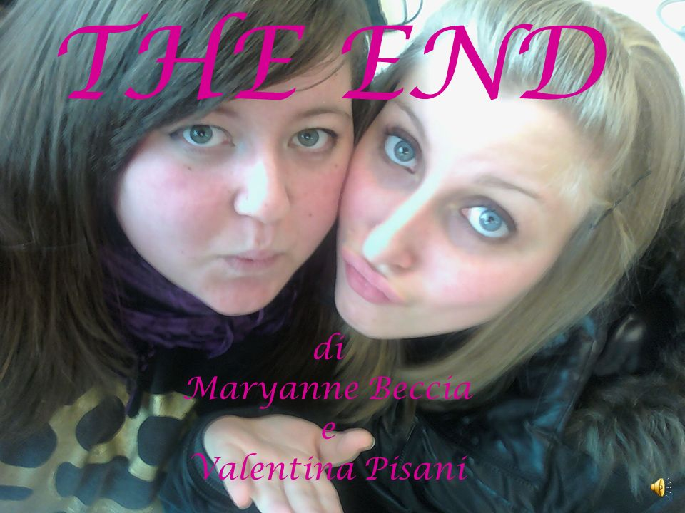 THE END di Maryanne Beccia e Valentina Pisani